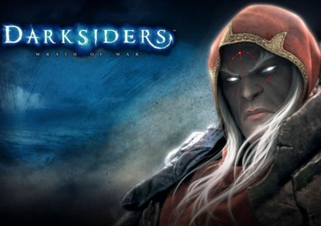 Darksiders - Darksiders, originally known with the subtitle Wrath of War, is an action adventure video game developed by Vigil Games and published by THQ. The game takes its inspiration from the apocalypse, with the player taking the role of War. The game was released for the Xbox 360 and PlayStation 3 on January 5, 2010 in North America and January 8 in Europe. The PC version was released on September 23, 2010 for North America and September 24 for Europe. A parallel sequel is currently under development and expected to be released in 2012. - , Games, Darksiders, Wrath_of_War - Play puzzles with Darksiders or send Darksiders puzzle ecards to your friends </td><td valign=