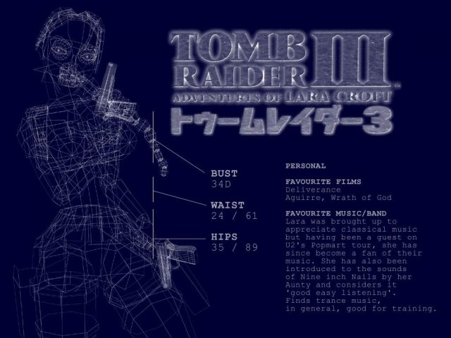 Tomb Raider III - Tomb Raider III - , Tomb, Raider, III - Play puzzles with Tomb Raider III or send Tomb Raider III puzzle ecards to your friends </td><td valign=