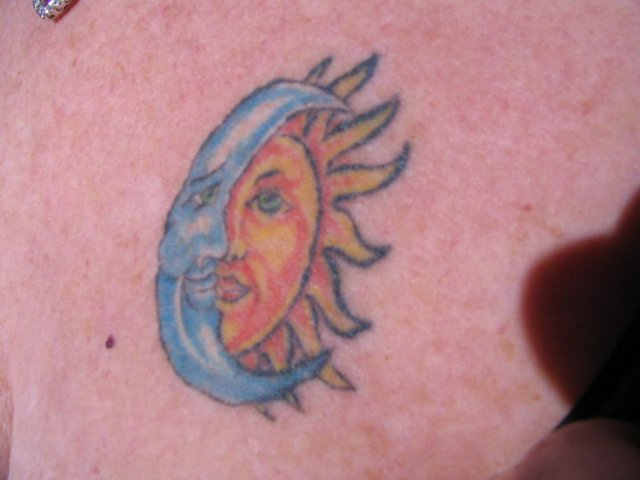 Sun and Moon Tattoo - Sun and Moon Tattoo - , Sun, and, Moon