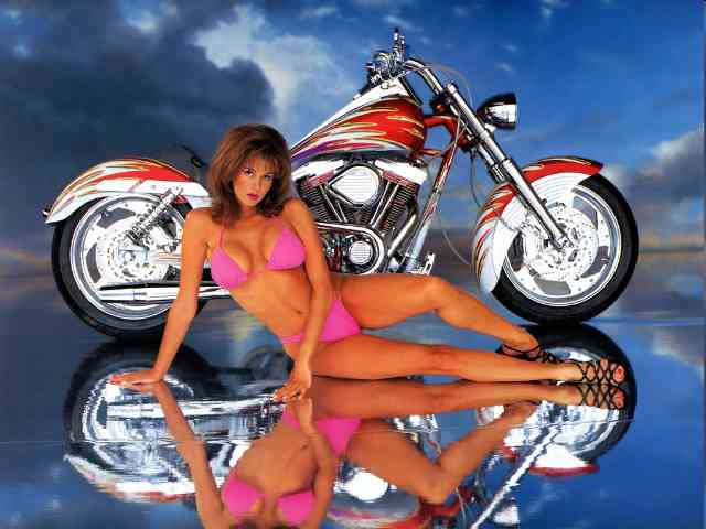 Babe and Motorcycle - Babe and Motorcycle - what do you want more then a fast motorcycle and a nice babe - together? - , Motorcycle, Babe, bike, motors, bikes - Play puzzles with Babe and Motorcycle or send Babe and Motorcycle puzzle ecards to your friends </td><td valign=