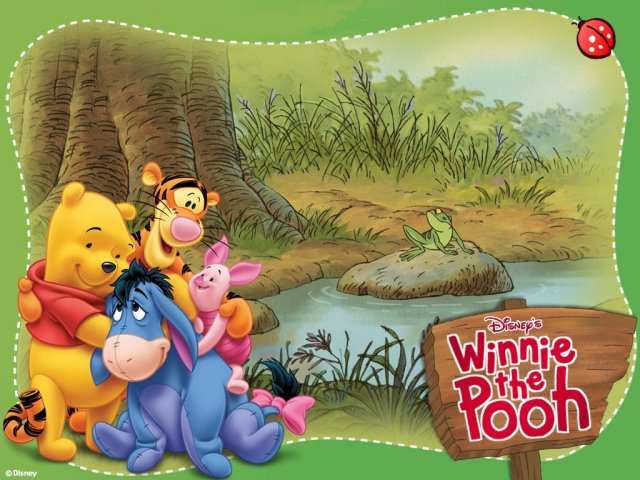 Winnie the Pooh - Winnie the Pooh - , Winnie, the, Pooh - Play puzzles with Winnie the Pooh or send Winnie the Pooh puzzle ecards to your friends </td><td valign=