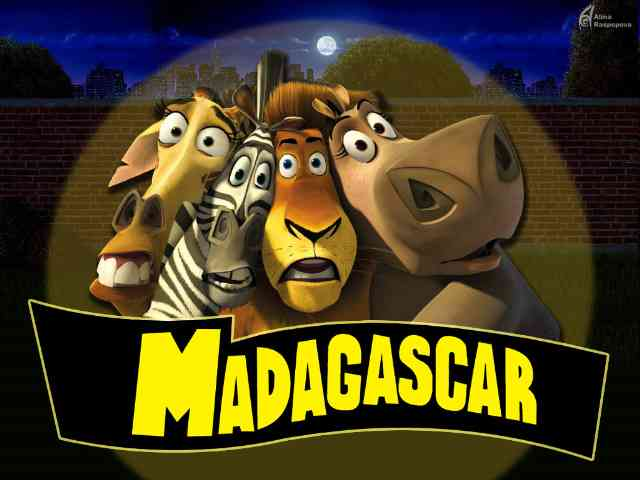 Madagascar - Madagascar - , Madagascar, cartoons - Play puzzles with Madagascar or send Madagascar puzzle ecards to your friends </td><td valign=