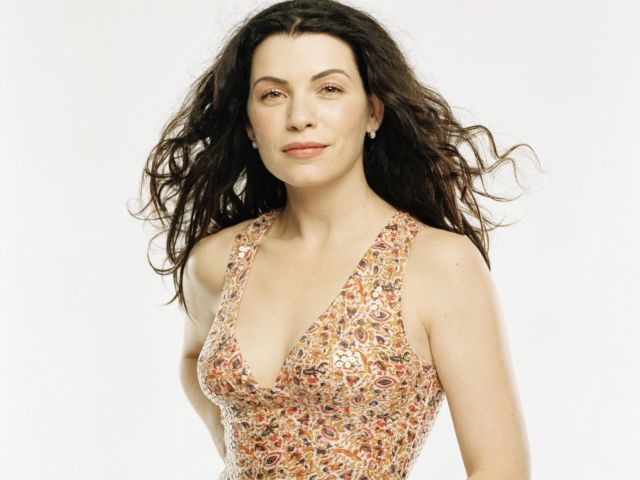Julianna  Margulies - Julianna Luisa Margulies (pronounced /dʒuːliˈɑːnə mɑːrɡəˈliːs/; born June 8, 1966) is an American actress and producer.After several small television roles, Margulies achieved success in her regular role as Nurse Carol Hathaway on NBC's long-running medical drama ER, for which she won an Emmy Award. After her departure from ER in 2000, Margulies appeared in the 2001 miniseries The Mists of Avalon and voiced the female iguanadon, Neera, in Disney's CGI film Dinosaur (2000). In 2009, she took the lead role in the American legal drama The Good Wife on CBS, for which she has won a Golden Globe and two Screen Actors Guild Awards. She won the 2011 Primetime Emmy Award for Outstanding Lead Actress in a Drama Series for her performance as Alicia Florrick on The Good Wife. - , Celebrity, Julianna, Luisa, Margulies, American, actress, producer - Play puzzles with Julianna  Margulies or send Julianna  Margulies puzzle ecards to your friends </td><td valign=
