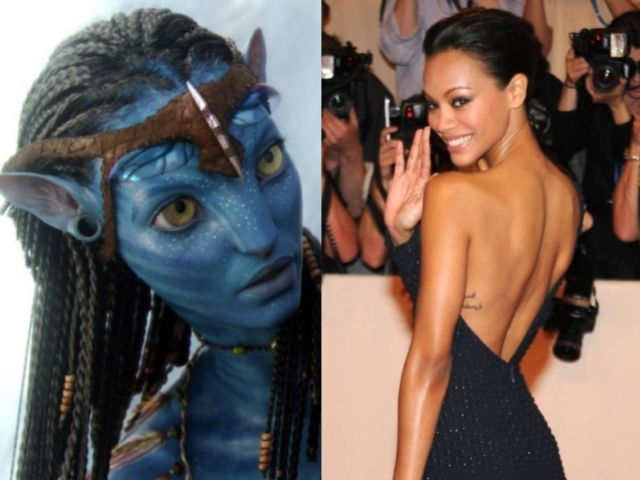 Pics For > Neytiri Avatar Actress