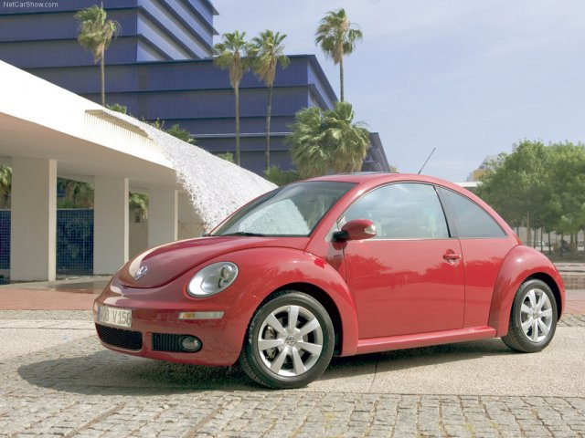 Volkswagen New Beetle 2005 - Cars - Volkswagen New Beetle 2005 - Since 1998 it has been a fixture on our streets: the New Beetle In mid 2005, the Volkswagen cult-car was optically sharpened  in the style of the New Beetle Ragster study. - , Cars, Volkswagen, New, Beetle, 2005, Ragster - Play puzzles with Volkswagen New Beetle 2005 or send Volkswagen New Beetle 2005 puzzle ecards to your friends </td><td valign=