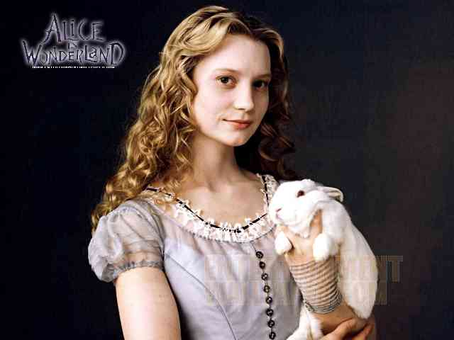 Alice in Wonderland - Alice in Wonderland - Mia Wasikowska in the role of Alice - , Alice, Wonderland, Mia, Wasikowska, movie, actress, celebrity - Play puzzles with Alice in Wonderland or send Alice in Wonderland puzzle ecards to your friends </td><td valign=