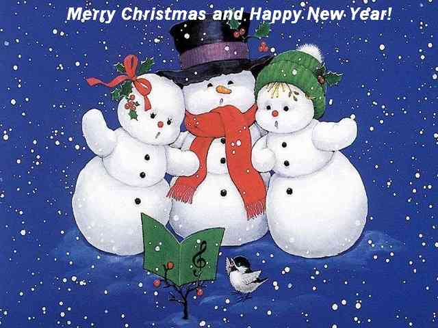 The Three snowmans - The Three snowmans wishing you Merry Christmas and Happy New Year - , snowman, snowmans, christmas, greeting, greetings, ecard, ecards, holidays - Play puzzles with The Three snowmans or send The Three snowmans puzzle ecards to your friends </td><td valign=