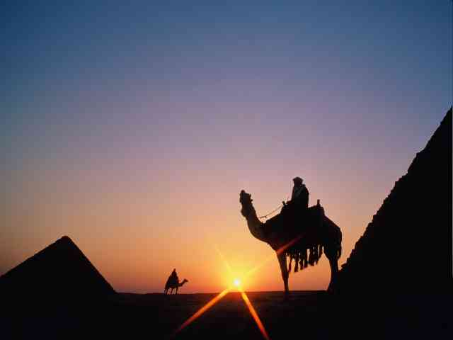 Pyramid in Giza - Pyramid in Giza, Egypt - Sunset - , Pyramid, Giza, Egypt, Sunset, places, travel - Play puzzles with Pyramid in Giza or send Pyramid in Giza puzzle ecards to your friends </td><td valign=