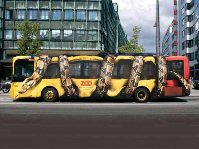 Snake Attack on Danish Bus - Snake Attack on Danish Bus is an advertising of Danish public Zoo. What an illusion! - , Snake, Attack, Danish, Bus, advertising, Zoo, places, travel - Play puzzles with Snake Attack on Danish Bus or send Snake Attack on Danish Bus puzzle ecards to your friends </td><td valign=